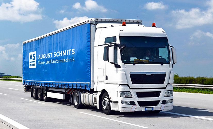 August Schmits Lastwagen